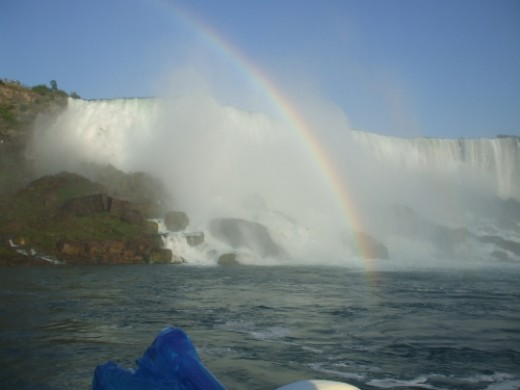 Picture taken from the Ferry approaching Maid of the Mist