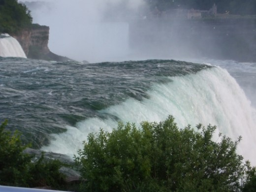 A touch of Rainbow across Niagara Falls