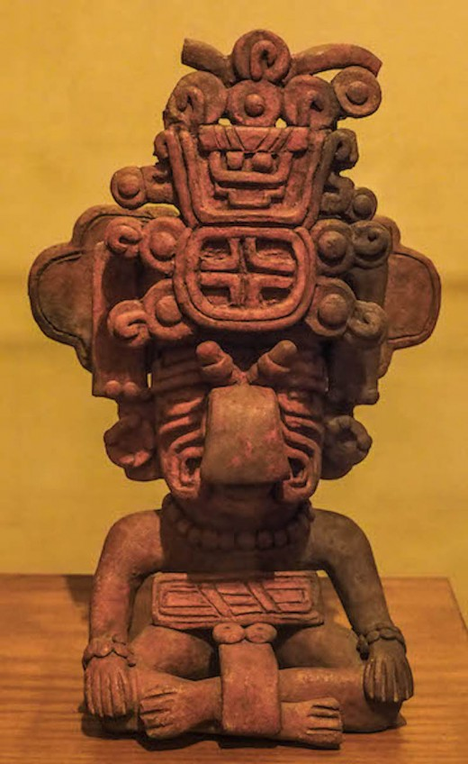 Mayan relic from one of the many museums in Mexico.