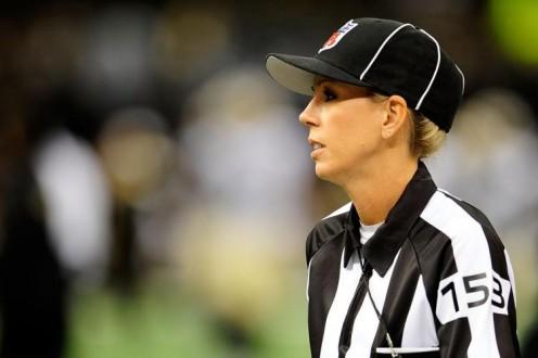 Sarah Thomas,  NFLs first female  referee