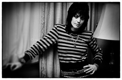 Wouldn't Joan Jett make the ideal coach for The New York Rangers?