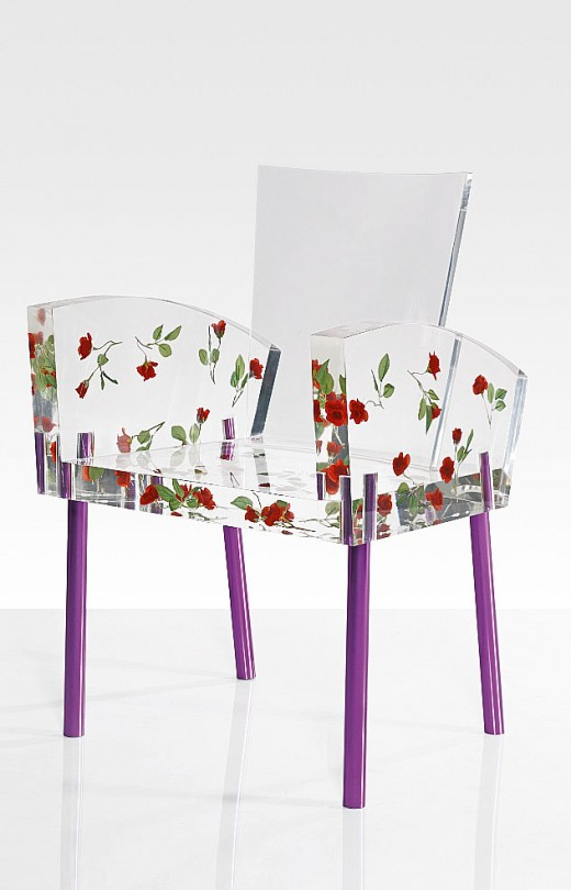Kuramata's Miss Blanche Chair