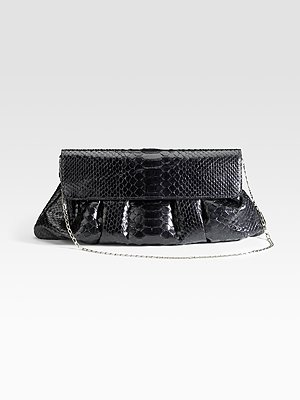 Carlos Falchi Bags - Pleated Pouch CLutch