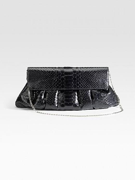 Carlos Falchi Bags - Pleated Pouch CLutch