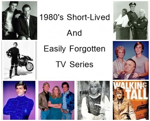 Short-Lived and Easily Forgotten 1980s TV Series
