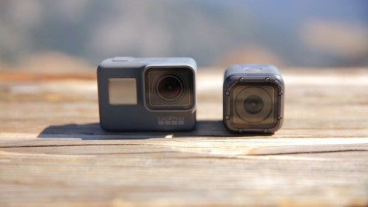Action cameras get smaller packages and better specs.