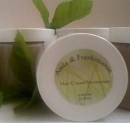 Organic Amla & Frankincense Shea Butter Hair Cream Moisturizer for Natural Hair