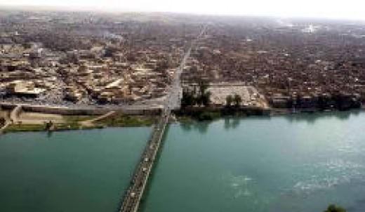 Iraqi city of Mosul
