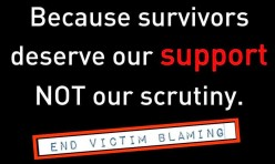 The Shame of Victim Blame: How Women are Marginalized by Rape Culture