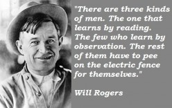 Just one of many quotes made famous by Rogers