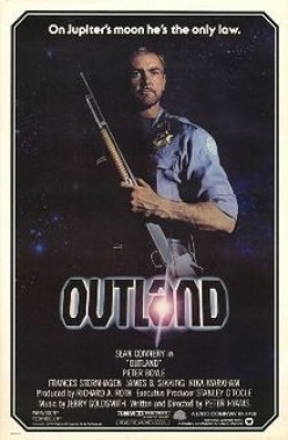 Movie Poster for Outland.