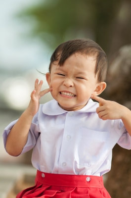 Children laugh tons more on a daily basis than adults