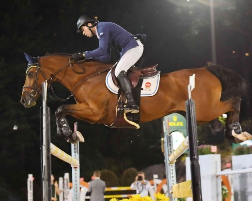 Ireland's Conor Swail riding Cita.