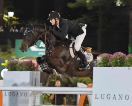 Olympic Gold and Silver Medalist McLain Ward riding HH Carlos Z.