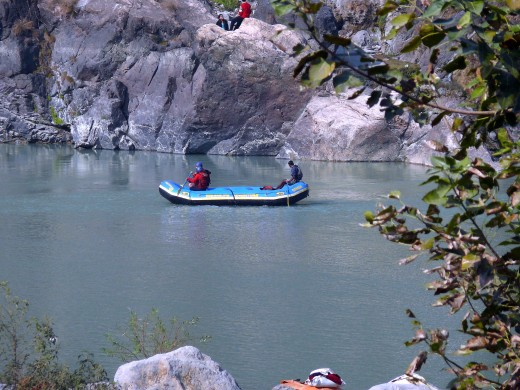 River-rafting in Rishikesh. Be very careful if you opt for this, I nearly drowned because I selected cheap company with the instructor who spoke no English. Please don't go cheap.