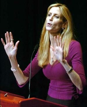 Anne Coulter said that she didn't condone murder intimated that she wouldn't blame others if they did.