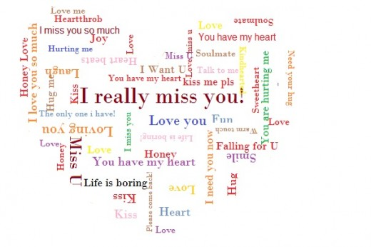 Long Distance Relationship Messages for Boyfriend or Girlfriend