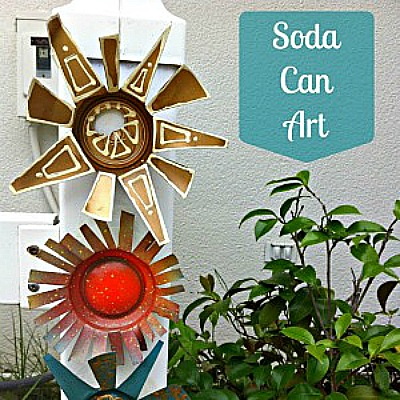 There Are So Many Really Great Crafts Made Using Aluminum Cans. I Made A  Search Of Websites Looking For The Aluminum Can Crafts Which Included A  Nice Photo ...