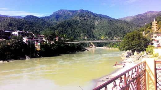 Laxman Jhula Bridge from another angle