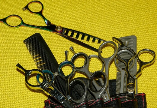 Scissors and nail clippers may cause injuries so make sure to clean them after every use so that  in case it will cut through your skin or your pet's skin, it won't be much a problem.