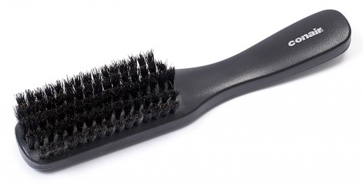 Hair brushes will store hairs so in order to make it always look clean, remove stuck hair every after use.