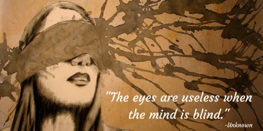 The Eyes Are Useless When The Mind Is Blind Letterpile