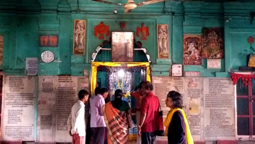 Inside Devraja Perumal temple