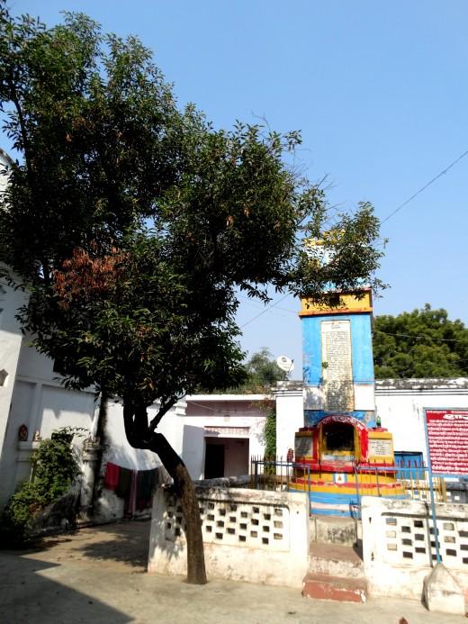 Inside  Devraja Temple