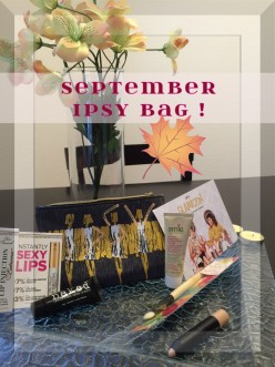 September Ipsy Glamazon Bag Review!