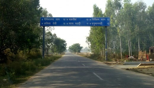 Road to Naimisharanya