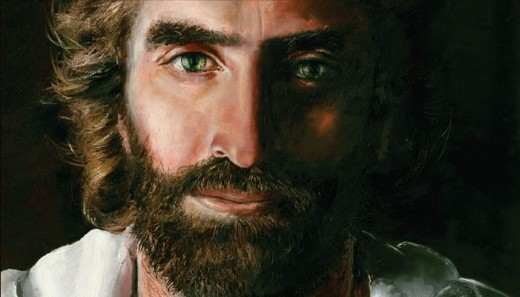 A Close Up View of Jesus!!