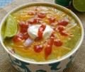 Spicy Avocado Soup with Lime