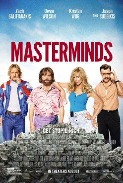 Masterminds: Movie Review
