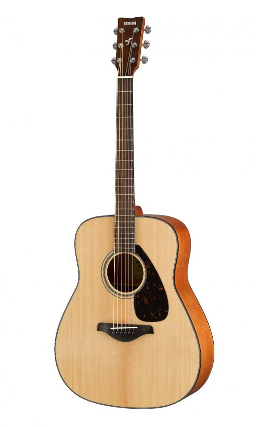 The Yamaha FG800 is one of the best acoustic guitars for beginners under $200.