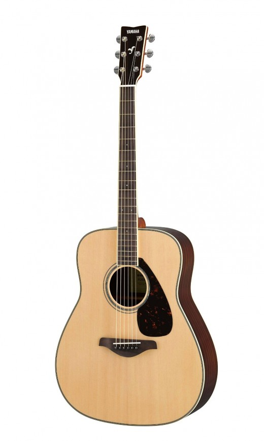The Yamaha FG830 is one of the best acoustic guitars you'll find for under $300.