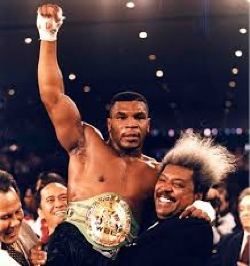 Don King promoted Mike Tyson for the majority of his professional boxing career.