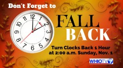 Daylight saving time is approaching fast