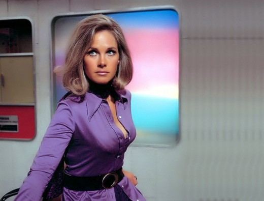 Wanda Ventham as Colonel Virginia Lake on the TV series UFO