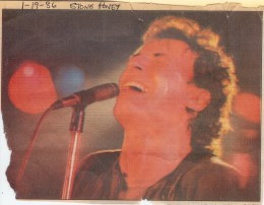 Bruce Springsteen performs at the Stone Pony in Asbury Park, New Jersey.  I was there