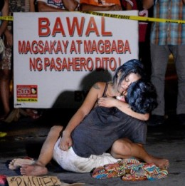Accused but not proven- this man was killed under Duterte's war on drugs.