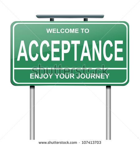 Acceptance and Accepting Are NOT The Same!