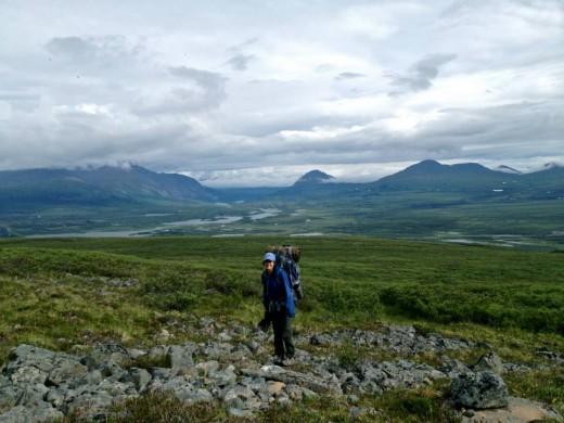 Backpacking in Alaska '13