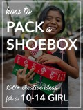 Operation Christmas Child Shoebox Ideas for a 10- to 14-Year-Old Girl