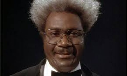 """Ving Rhames starred as Don King in the HBO film called """"Only in America""""."""