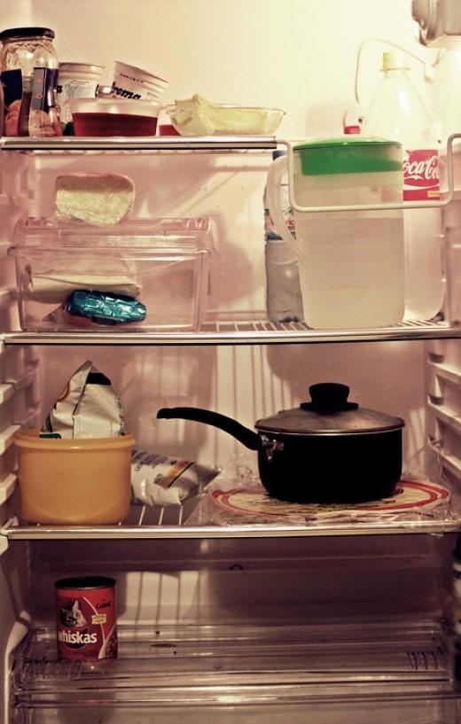 A Well Kept Refrigerator