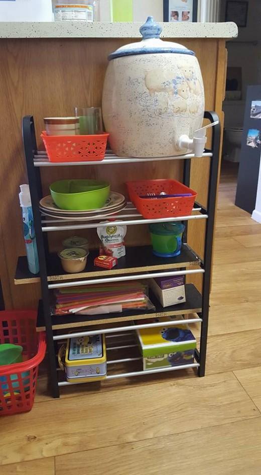 Montessori toddler self serve center