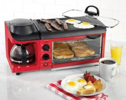 Brew Coffee, Cook Eggs, Fry Bacon and Make Toast Using Just One Device