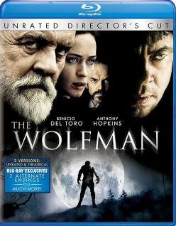 Anthony Hopkin's The Wolfman 2010 Movie Review