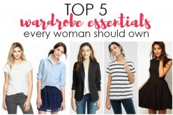 5 Essentials for Every Woman's Wardrobe