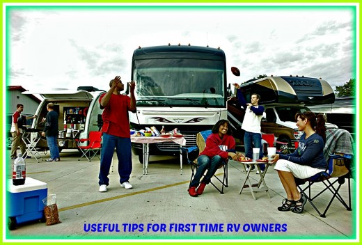 Advice from a long time RV owner that will help newbies on their first time vacations.
